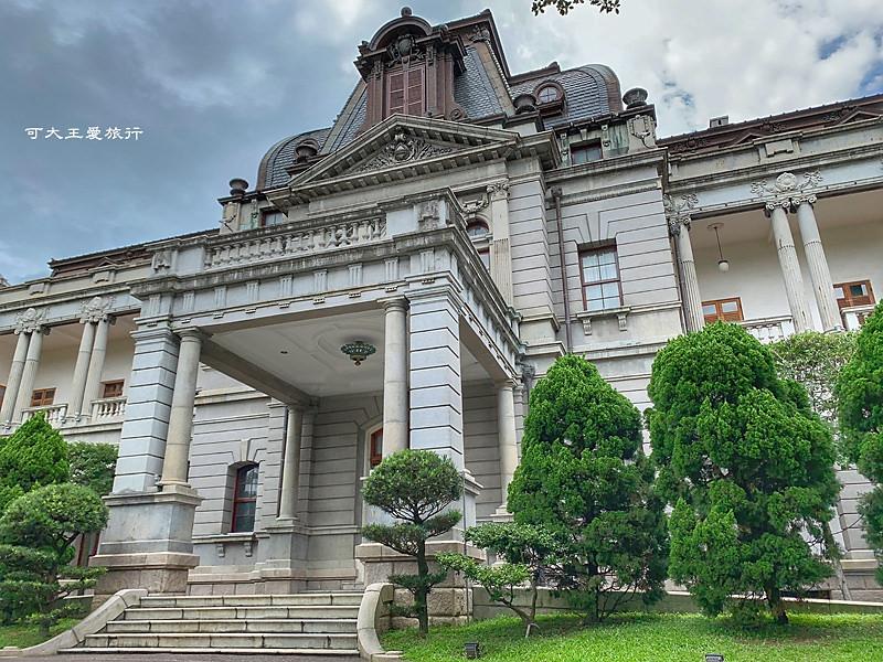 台北[中正]景點 台北賓館 百年風華,浮誇系巴洛克皇宮,每月限定免費參觀